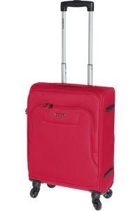 Βαλίτσα Καμπίνας με 4 ρόδες 55 cm Diplomat ZC984-55 Κόκκινο