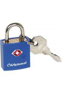 Κλειδαριά TSA με Κλειδί Diplomat ACLOCK1 Μπλε