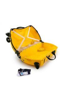 Παιδική Βαλίτσα Bernard the Bee Trunki 0044-GB01 Κίτρινο