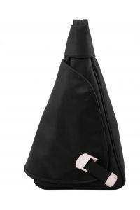 Γυναικείο Τσαντάκι Δερμάτινο Hanoi Μαύρο Tuscany Leather