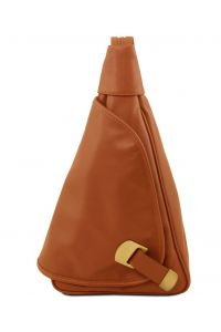 Γυναικείο Τσαντάκι Δερμάτινο Hanoi Κονιάκ Tuscany Leather