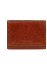 Γυναικείο Πορτοφόλι Δερμάτινο TL140790 Καφέ Tuscany Leather