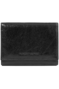 Γυναικείο Πορτοφόλι Δερμάτινο TL140790 Μαύρο Tuscany Leather