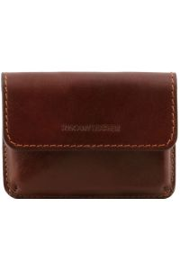 Δερμάτινη θήκη για Επαγγελματικές Κάρτες TL141378 Καφέ Tuscany Leather