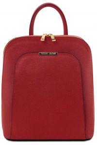 Τσάντα Πλάτης Δερμάτινη TL Bag 141631 Κόκκινο Tuscany Leather
