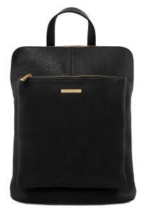Γυναικεία Τσάντα Πλάτης - Ώμου Δερμάτινη TL141682 Μαύρο Tuscany Leather