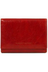 Γυναικείο Πορτοφόλι Δερμάτινο TL140790 Κόκκινο Tuscany Leather