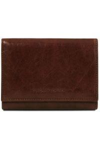 Γυναικείο Πορτοφόλι Δερμάτινο TL140790 Καφέ σκούρο Tuscany Leather