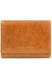 Γυναικείο Πορτοφόλι Δερμάτινο TL140790 Μελί Tuscany Leather