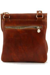 58e0ab7af5 Ανδρικό Τσαντάκι Δερμάτινο Joe Κόκκινο Tuscany Leather