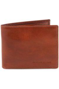 Ανδρικό Δερμάτινο Πορτοφόλι TL140763 Καφέ Tuscany Leather