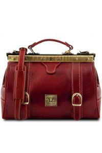 Ιατρική Τσάντα Δερμάτινη Mona Lisa Κόκκινο Tuscany Leather