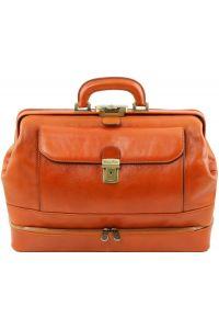 Ιατρική Τσάντα Δερμάτινη Giotto Μελί Tuscany Leather