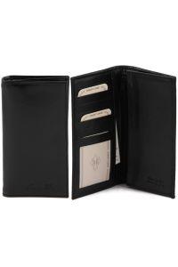 Δερμάτινο Πορτοφόλι / Θήκη TL140777 Μαύρο Tuscany Leather