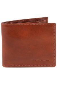 Δερμάτινο Πορτοφόλι / Θήκη TL140777 Καφέ Tuscany Leather