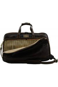 Δερμάτινος  Σάκος Ταξιδίου Trolley Bora Bora S Καφέ σκούρο Tuscany Leather