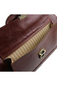 Ιατρική Τσάντα Δερμάτινη Bernini Καφέ Tuscany Leather