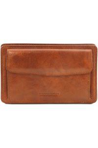 Ανδρικό Τσαντάκι Δερμάτινο Denis Μελί Tuscany Leather