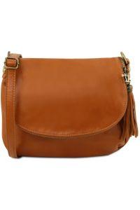 f57937e91d Γυναικεία Τσάντα Δερμάτινη TL141223 Κονιάκ Tuscany Leather