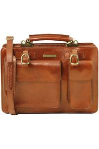 Γυναικεία Επαγγελματική Τσάντα Δερμάτινη Tania Μελί Tuscany Leather
