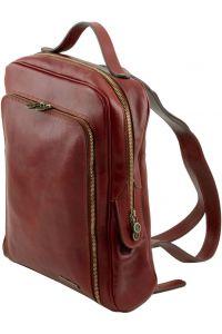 Ανδρική Τσάντα Δερμάτινη Πλάτης Bangkok Μαύρο Tuscany Leather