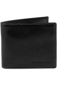 Ανδρικό Δερμάτινο Πορτοφόλι TL141377 Μαύρο Tuscany Leather