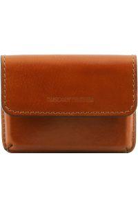 Δερμάτινη θήκη για Επαγγελματικές Κάρτες TL141378 Μελί Tuscany Leather