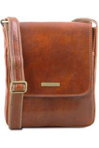 Ανδρικό Τσαντάκι Δερμάτινο John Μελί Tuscany Leather