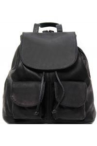 Γυναικεία Τσάντα Δερμάτινη Seoul L Μαύρο Tuscany Leather