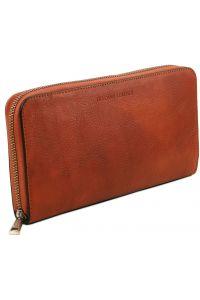 Πορτοφόλι - θήκη εγγράφων - TL141663 Μελί Tuscany Leather