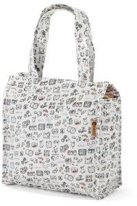Τσάντα Shopping 24x21x11cm Benzi BZ5281 Λευκό