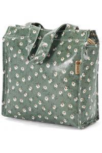 Τσάντα Shopping 23x20x12cm Benzi BZ5396 Πετρόλ