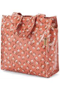 Τσάντα Shopping 23x20x12cm Benzi BZ5396 Κοραλί