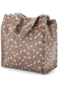 Τσάντα Shopping 23x20x12cm Benzi BZ5396 Καφέ