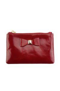 Δερμάτινο Πορτοφολάκι Jessica Firenze Leather PO8319 Κόκκινο