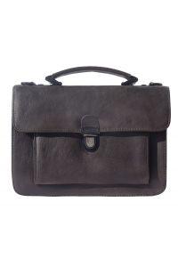 Δερματινος Χαρτοφυλακας 2 Θέσεων Mini Firenze Leather 68038 Ebony