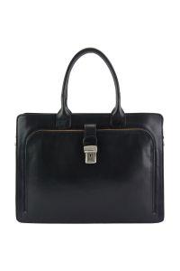 Δερματινος Χαρτοφυλακας Giacinto Firenze Leather 7635 Μαύρο