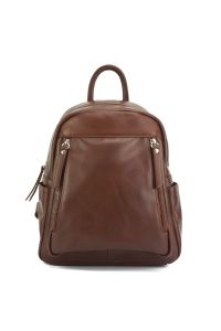 Δερμάτινη Τσάντα Πλάτης Santina Firenze Leather 6148 Καφέ
