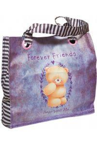 Τσάντα Ωμου Μεγάλη Forever Friends Rustic BMU 333-42207