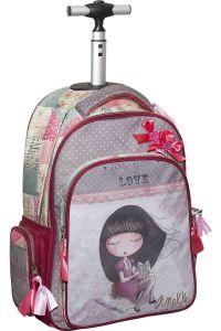 Τσάντα Δημοτικού Trolley Anekke Sweet BMU 346-91074