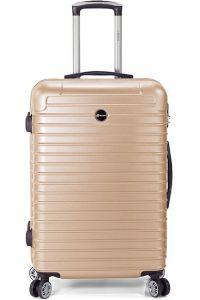Βαλίτσα 69cm με 4 Διπλές Ρόδες Benzi BZ5332 Χρυσό
