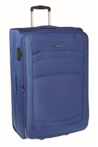 Βαλίτσα Μεγάλη 73cm με Επέκταση Diplomat ZC6018-73 Μπλε