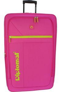 Βαλίτσα Μεσαία 64cm με Επέκταση Diplomat ZC2019-61 Φούξια