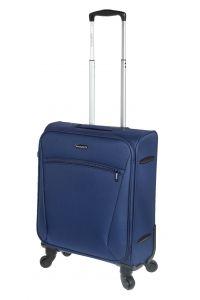 Βαλίτσα Καμπίνας με 4 Ρόδες 54cm Diplomat ZC614-55 Μπλε