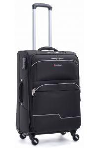 Βαλίτσα Μεσαία με 4 Ρόδες & Επέκταση Cardinal 3300/60 Μαύρο