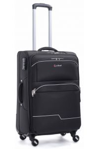 Βαλίτσα Καμπίνας με 4 Ρόδες & Επέκταση Cardinal 3300/50 Μαύρο