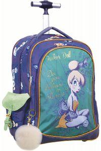 Τσάντα Trolley Νηπιαγωγείου Tinkerbell Glitter GIM 331-82074