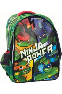 Τσάντα Δημοτικού Οβάλ Ninja Rise GIM 334-01031