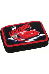 Κασετίνα Γεμάτη Διπλή Cars Racing GIM 341-43100