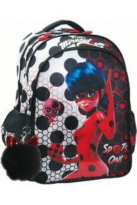 Τσάντα Δημοτικού Οβάλ Ladybug Dots GIM 346-02031